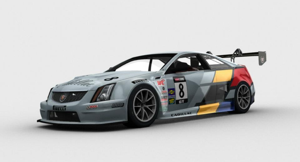 Basierend auf dem 556 PS Cadillac CTS-V